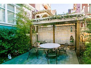 """Photo 16: 1 1624 GRANT Street in Vancouver: Grandview VE Townhouse for sale in """"GRANTS PLACE"""" (Vancouver East)  : MLS®# V1046767"""