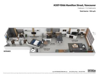 "Photo 24: 207 1066 HAMILTON Street in Vancouver: Yaletown Condo for sale in ""NEW YORKER"" (Vancouver West)  : MLS®# R2565186"