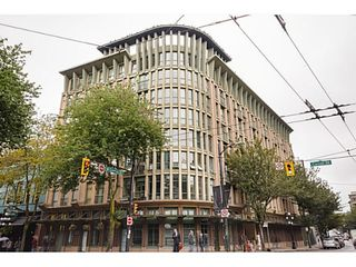 Photo 1: # 407 1 E CORDOVA ST in Vancouver: Downtown VE Condo for sale (Vancouver East)  : MLS®# V1086098