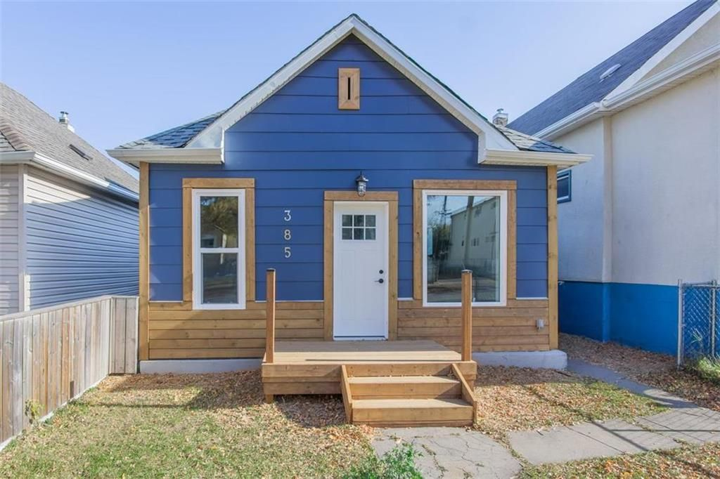 Main Photo: 385 Parr Street in Winnipeg: Sinclair Park Residential for sale (4A)  : MLS®# 202123704