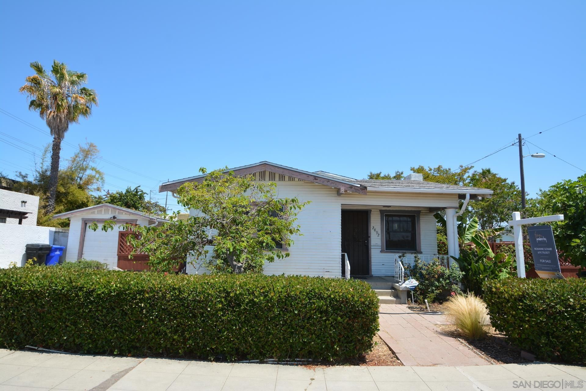 Main Photo: UNIVERSITY HEIGHTS House for sale : 2 bedrooms : 2892 Collier Ave in San Diego