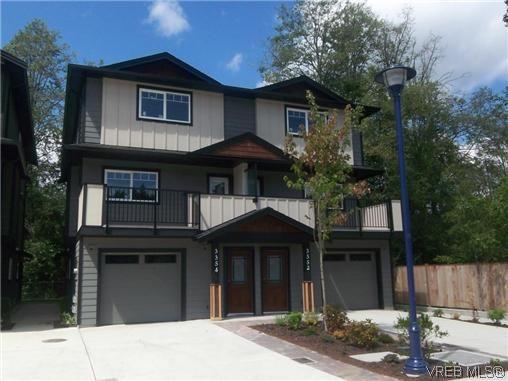 Main Photo: 3354 Radiant Way in VICTORIA: La Happy Valley Half Duplex for sale (Langford)  : MLS®# 625141