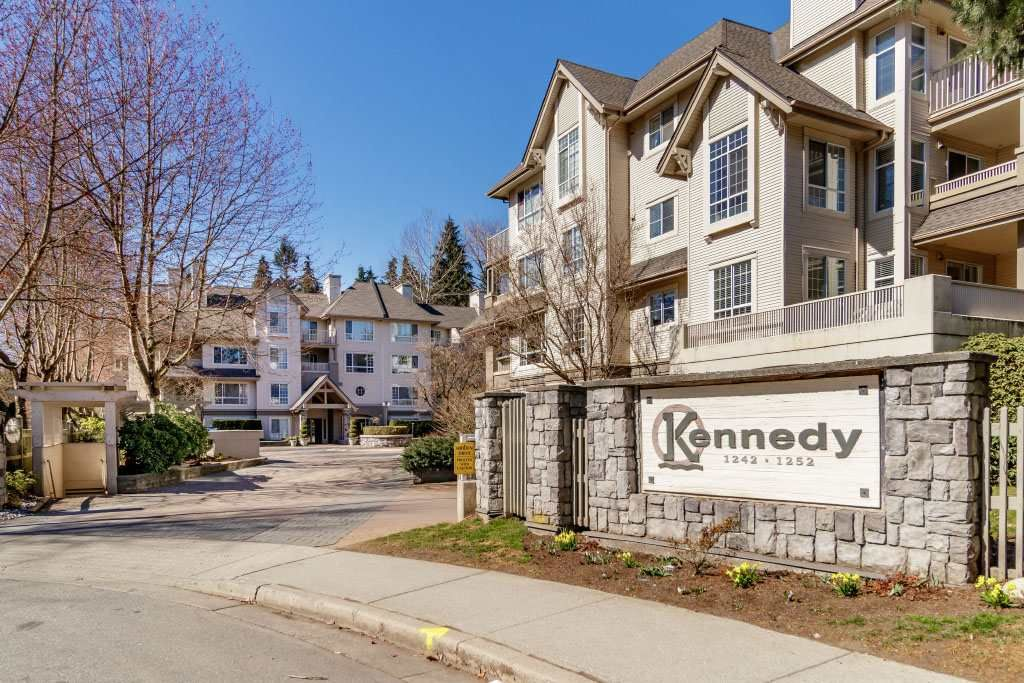 """Main Photo: 206 1242 TOWN CENTRE Boulevard in Coquitlam: Canyon Springs Condo for sale in """"THE KENNEDY"""" : MLS®# R2510790"""