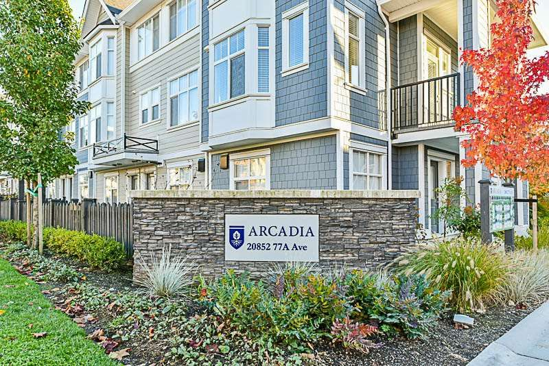Main Photo: 26 20852 77A AVENUE in Langley: Willoughby Heights Townhouse for sale : MLS®# R2218957