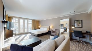 """Photo 1: 520/522 4050 WHISTLER Way in Whistler: Whistler Village Condo for sale in """"THE HILTON"""" : MLS®# R2530704"""