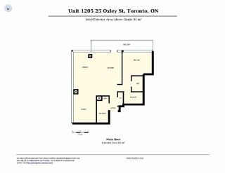 Photo 11: 25 Oxley St Unit #1205 in Toronto: Waterfront Communities C1 Condo for sale (Toronto C01)  : MLS®# C3574542