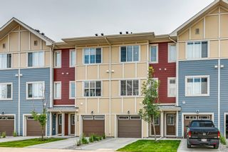 Main Photo: 227 Marquis Lane SE in Calgary: Mahogany Row/Townhouse for sale : MLS®# A1130377