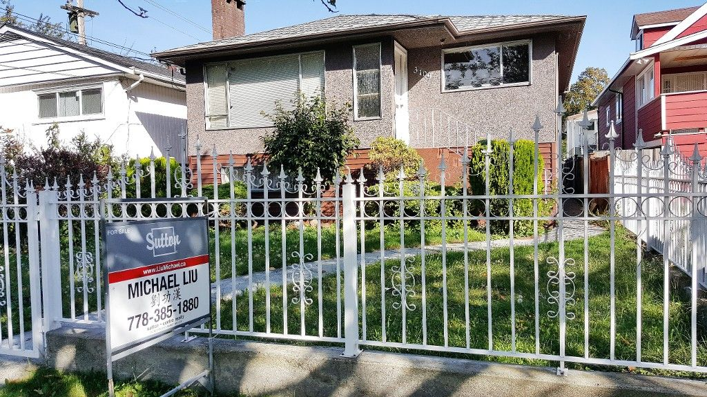 Main Photo: - LISTED BY SUTTON CENTRE REALTY in Vancouver: Killarney VE House for sale (Vancouver East)