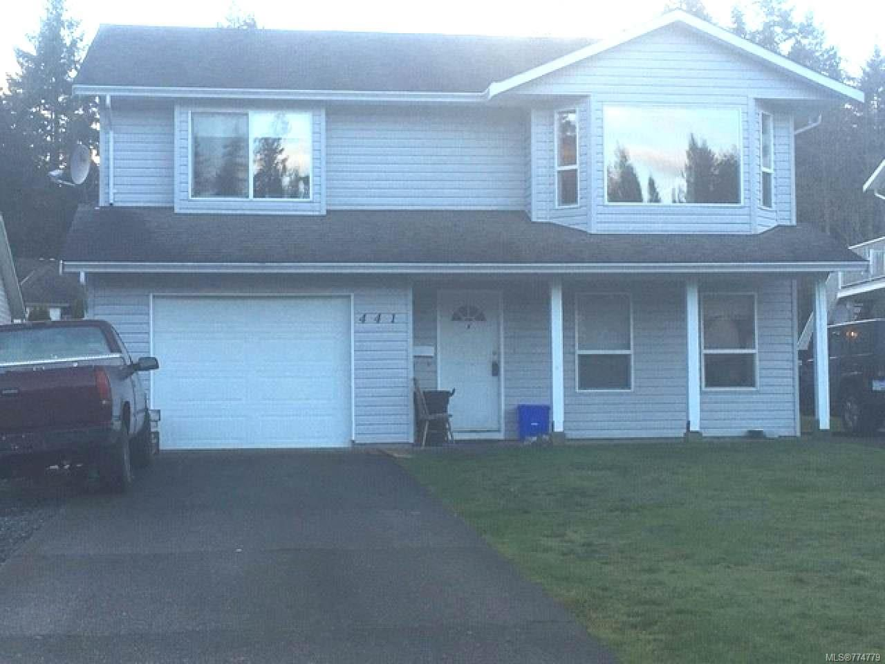 Main Photo: 441 Candy Lane in CAMPBELL RIVER: CR Willow Point House for sale (Campbell River)  : MLS®# 774779