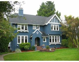 Photo 1: 1475 W 33RD Ave in Vancouver: Shaughnessy House for sale (Vancouver West)  : MLS®# V630473
