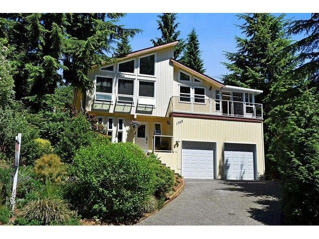 Main Photo: 1265 LANSDOWNE Drive in Coquitlam: Upper Eagle Ridge House for sale : MLS®# V1127701