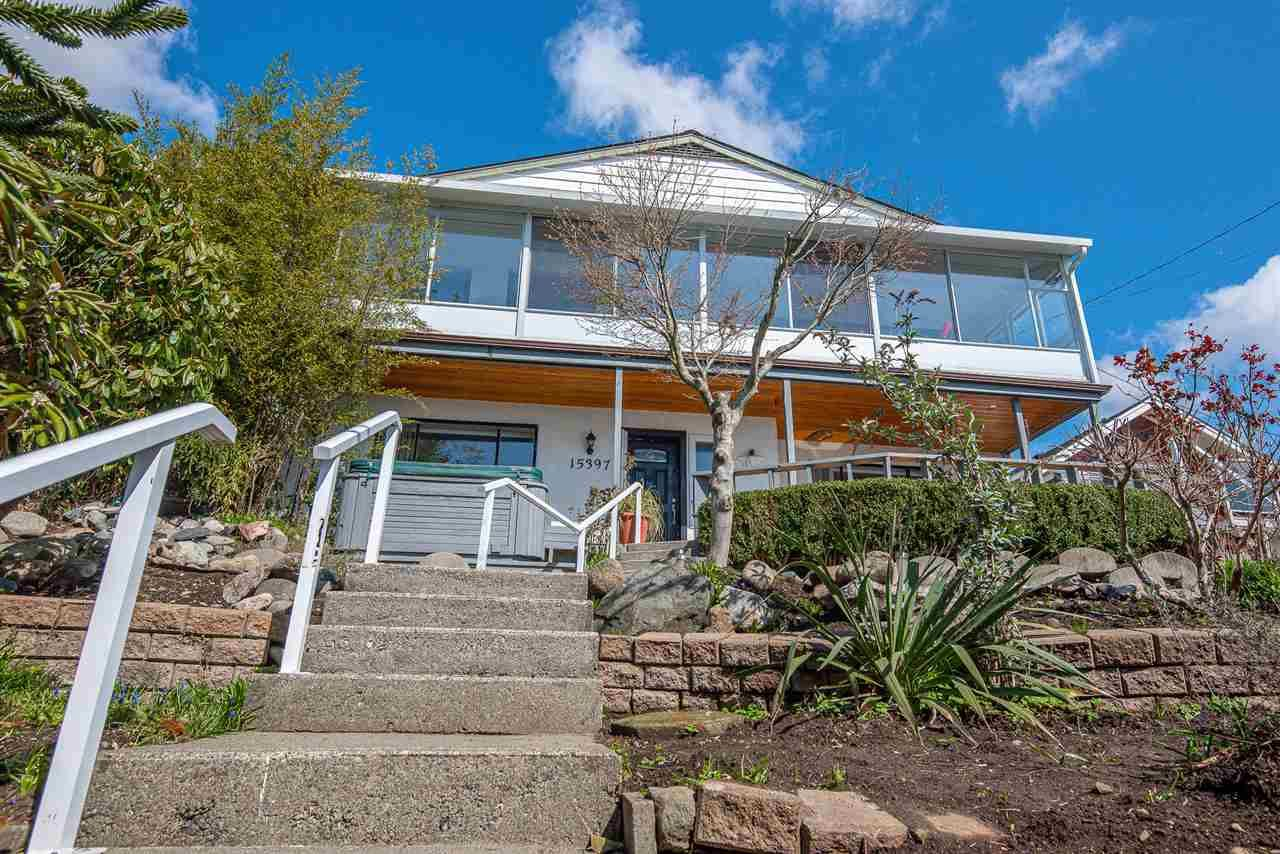 Main Photo: 15397 COLUMBIA Avenue: White Rock House for sale (South Surrey White Rock)  : MLS®# R2558799