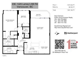 """Photo 11: 36 1425 LAMEY'S MILL Road in Vancouver: False Creek Condo for sale in """"Harbour Terrace"""" (Vancouver West)  : MLS®# R2548532"""