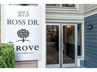 """Photo 2: 401 275 ROSS Drive in New Westminster: Fraserview NW Condo for sale in """"The Grove"""" : MLS®# V1128835"""