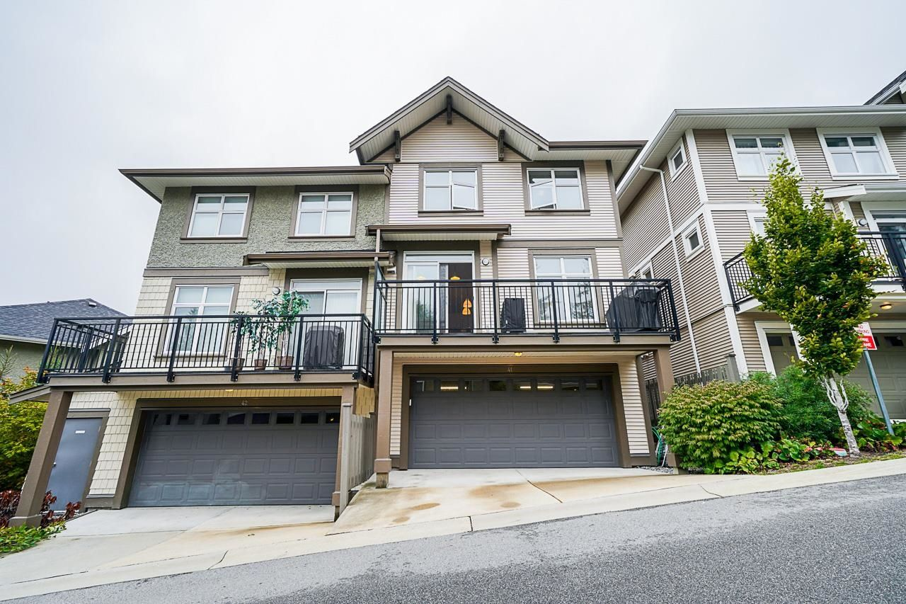 Main Photo: 41 3400 DEVONSHIRE Avenue in Coquitlam: Burke Mountain Townhouse for sale : MLS®# R2619772