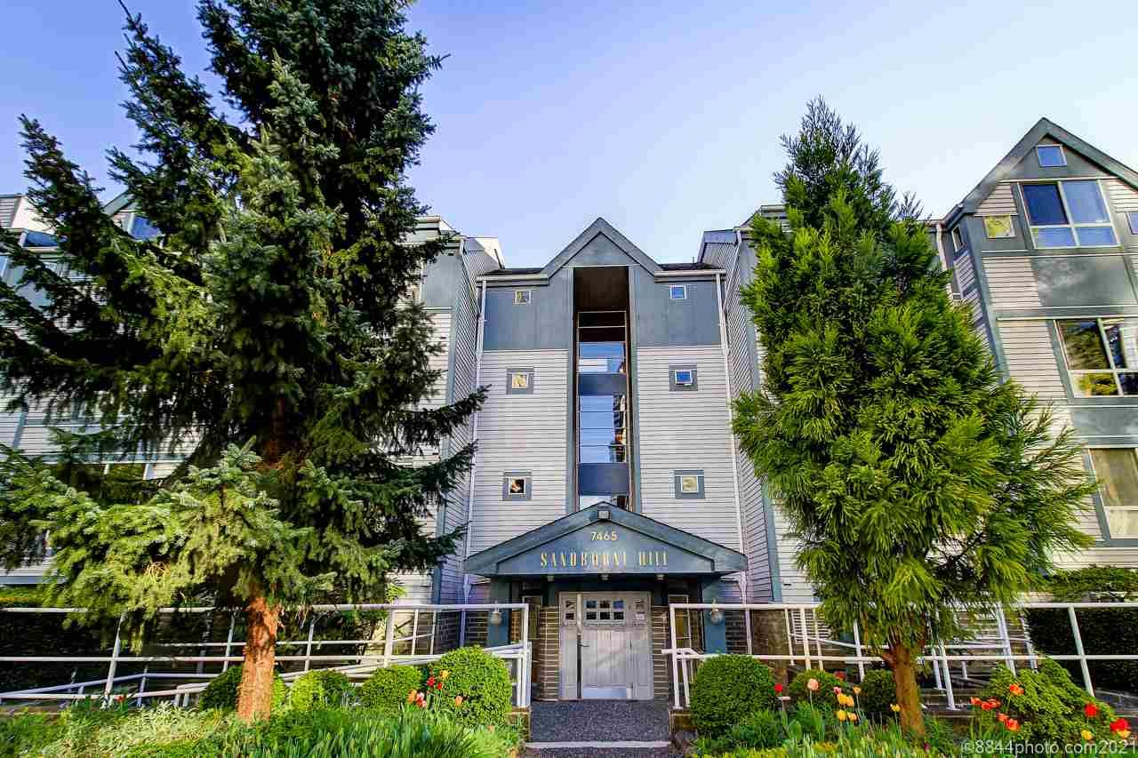 Main Photo: 202 7465 SANDBORNE Avenue in Burnaby: South Slope Condo for sale (Burnaby South)  : MLS®# R2571525