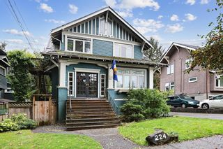 """Main Photo: 224 W 13TH Street in Vancouver: Mount Pleasant VW House for sale in """"City Hall"""" (Vancouver West)  : MLS®# R2626143"""