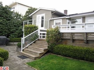 Photo 1: 15288 ROYAL Ave in South Surrey White Rock: White Rock Home for sale ()  : MLS®# F1103090