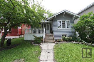 Photo 1: 254 Waterloo Street in Winnipeg: Residential for sale (1C)  : MLS®# 1819777