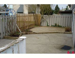 """Photo 6: 190 32550 MACLURE Road in Abbotsford: Abbotsford West Townhouse for sale in """"CLEARBROOK VILLAGE"""" : MLS®# F2805989"""