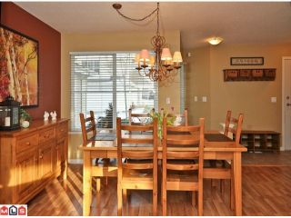 """Photo 8: 34 17097 64TH Avenue in Surrey: Cloverdale BC Townhouse for sale in """"Kentucky"""" (Cloverdale)  : MLS®# F1100822"""
