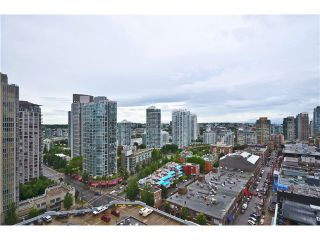 """Photo 9: # 1907 977 MAINLAND ST in Vancouver: Yaletown Condo for sale in """"YALETOWN PARK III"""" (Vancouver West)  : MLS®# V1015117"""