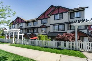 Photo 1: 35 7168 179TH STREET in Surrey: Cloverdale BC Townhouse for sale (Cloverdale)  : MLS®# R2168940