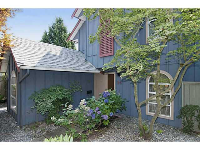 Main Photo: # 37 900 W 17TH ST in North Vancouver: Hamilton Townhouse for sale : MLS®# V1080074
