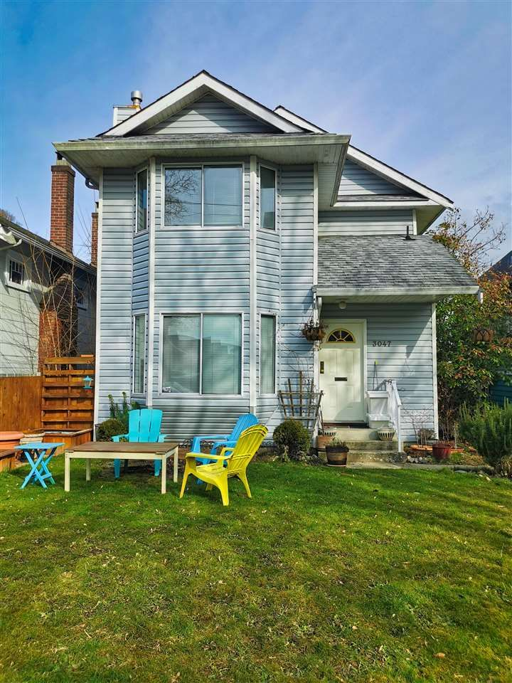 Main Photo: 3047 W 6TH Avenue in Vancouver: Kitsilano 1/2 Duplex for sale (Vancouver West)  : MLS®# R2544162