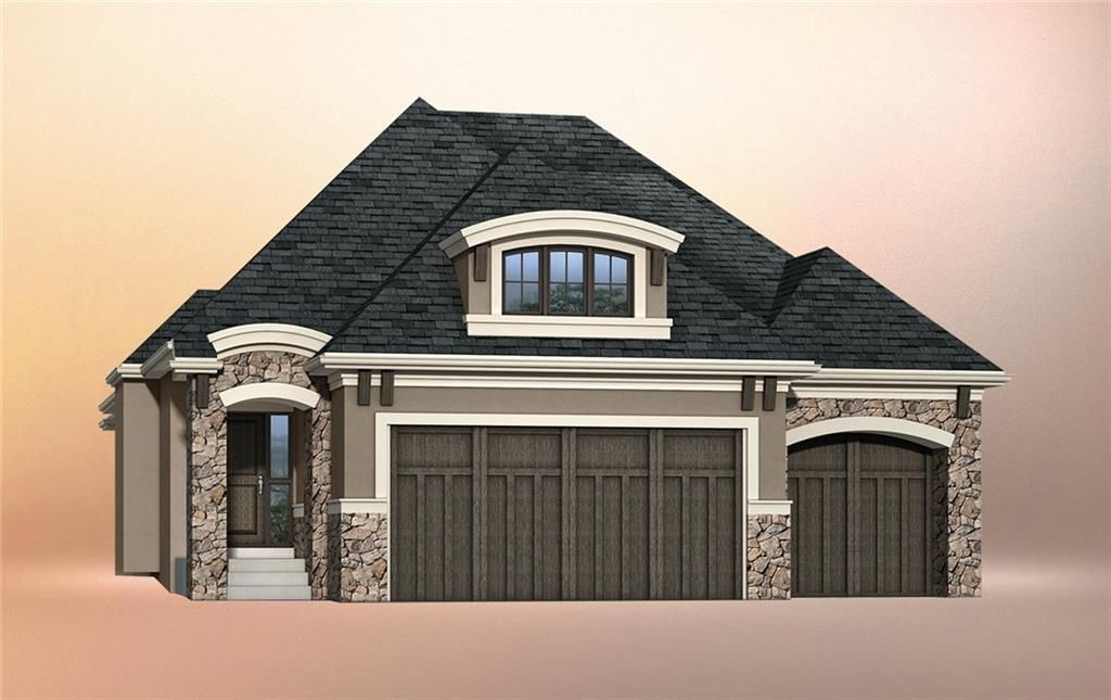 Welcome to 212 Cranbrook Point SE in Cranston's Riverstone. Artist rendering of what this home will look like, with beautiful architectural features designed to blend into the surroundings of the Bow River valley.