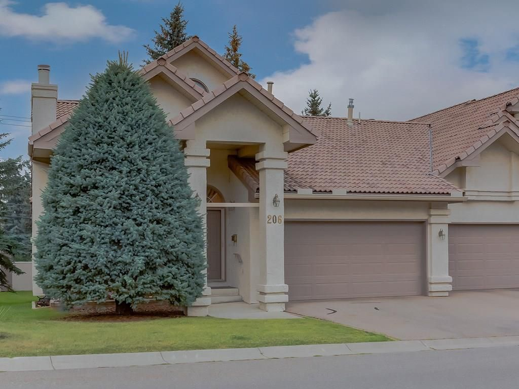 Main Photo: 206 PALISBRIAR Park SW in Calgary: Palliser Semi Detached for sale : MLS®# C4201652