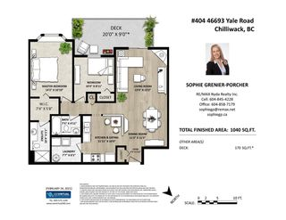 """Photo 31: 404 46693 YALE Road in Chilliwack: Chilliwack E Young-Yale Condo for sale in """"THE ADRIANNA"""" : MLS®# R2543750"""