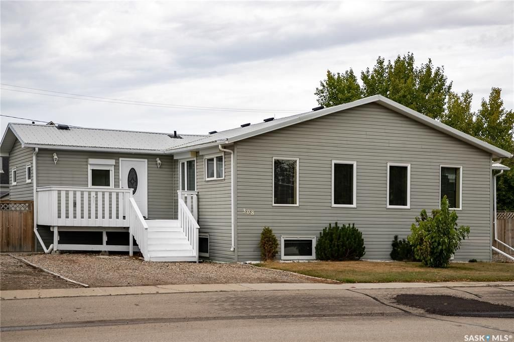 Main Photo: 308 Lincoln Avenue in Hanley: Residential for sale : MLS®# SK851886