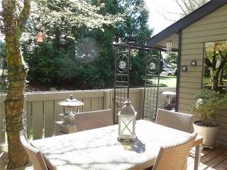 Photo 2: 3446 NAIRN Avenue in Vancouver: Champlain Heights Townhouse for sale (Vancouver East)  : MLS®# V1042758
