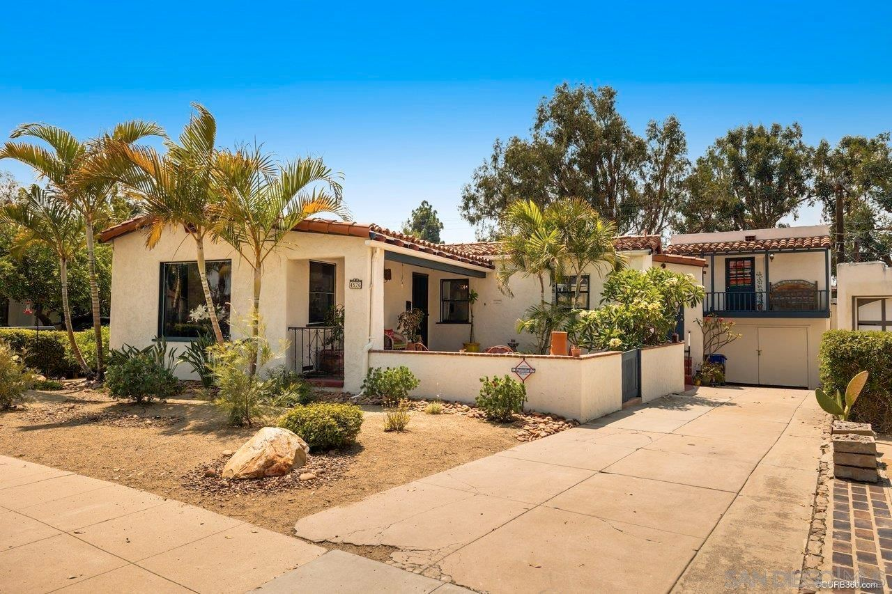 Main Photo: House for sale : 3 bedrooms : 4526 W Talmadge Dr in San Diego