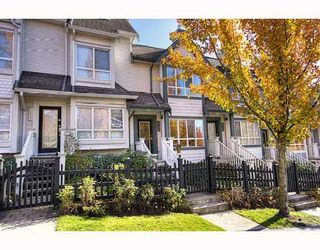 "Photo 1: 7480 HAWTHORNE Terrace in Burnaby: Highgate Townhouse for sale in ""ROCKHILL"" (Burnaby South)  : MLS®# V795963"
