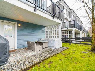Photo 31: 30 19572 FRASER WAY in Pitt Meadows: South Meadows Townhouse for sale : MLS®# R2540843