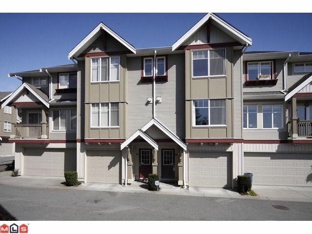 "Main Photo: 44 6651 203RD Street in Langley: Willoughby Heights Townhouse for sale in ""SUNSCAPE"" : MLS®# F1009765"