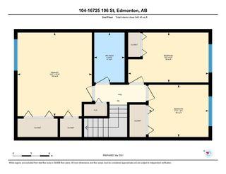 Photo 23: 104 16725 106 Street in Edmonton: Zone 27 Townhouse for sale : MLS®# E4240117