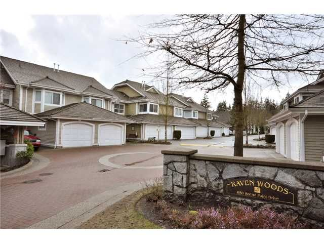 """Main Photo: 41 650 ROCHE POINT Drive in North Vancouver: Roche Point Townhouse for sale in """"Raven Woods"""" : MLS®# V876144"""
