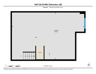 Photo 33: 4437 6A Street in Edmonton: Zone 30 House Half Duplex for sale : MLS®# E4257526