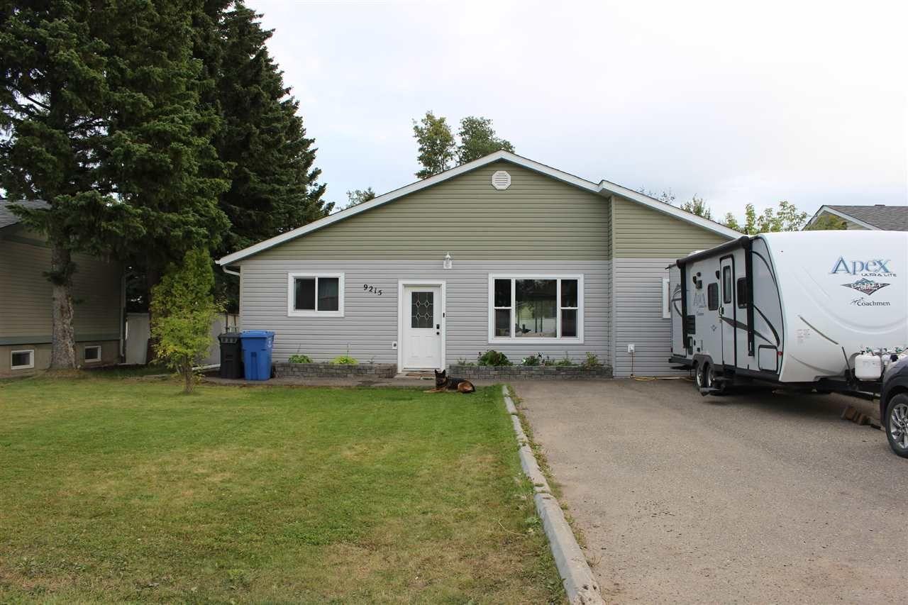 Main Photo: 9215 108 Avenue in Fort St. John: Fort St. John - City NE House for sale (Fort St. John (Zone 60))  : MLS®# R2498872