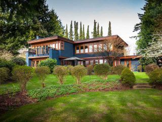 Photo 1: 2118 SW MARINE DR in Vancouver: Southlands House for sale (Vancouver West)  : MLS®# V1104597
