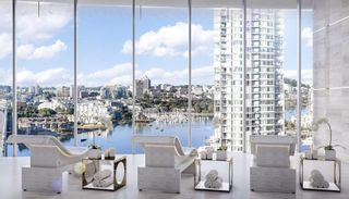 Photo 11: 8F 89 Nelson St. in Vancouver: Yaletown Condo for rent (Vancouver West)