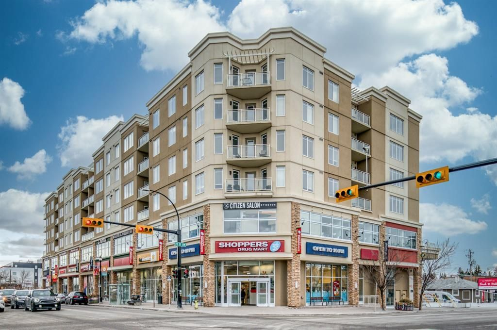 Main Photo: 611 3410 20 Street SW in Calgary: South Calgary Apartment for sale : MLS®# A1090380