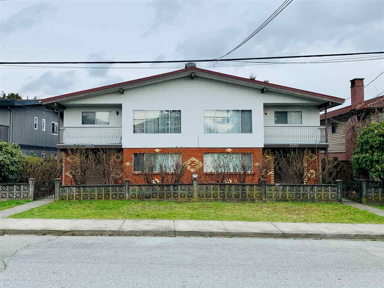 Main Photo: 7070 DUNBLANE Avenue in Burnaby: Metrotown Fourplex for sale (Burnaby South)  : MLS®# R2573843