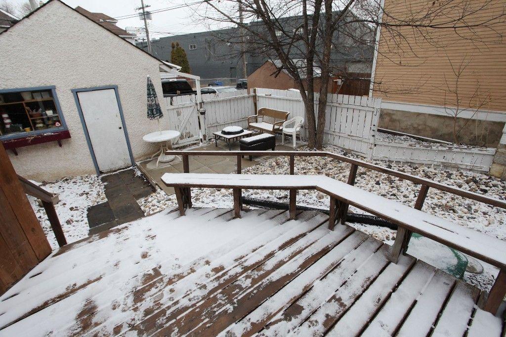 Photo 38: Photos: 532 Telfer Street South in Winnipeg: Wolseley Single Family Detached for sale (West Winnipeg)  : MLS®# 1307814