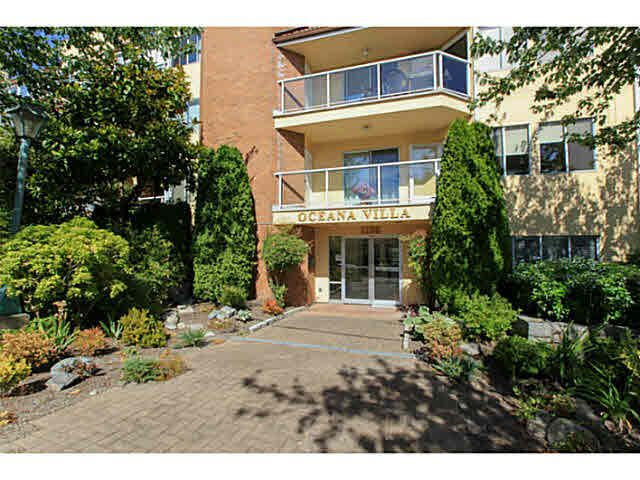 "Main Photo: 214 1280 FIR Street: White Rock Condo for sale in ""Oceana Villa"" (South Surrey White Rock)  : MLS®# F1446947"