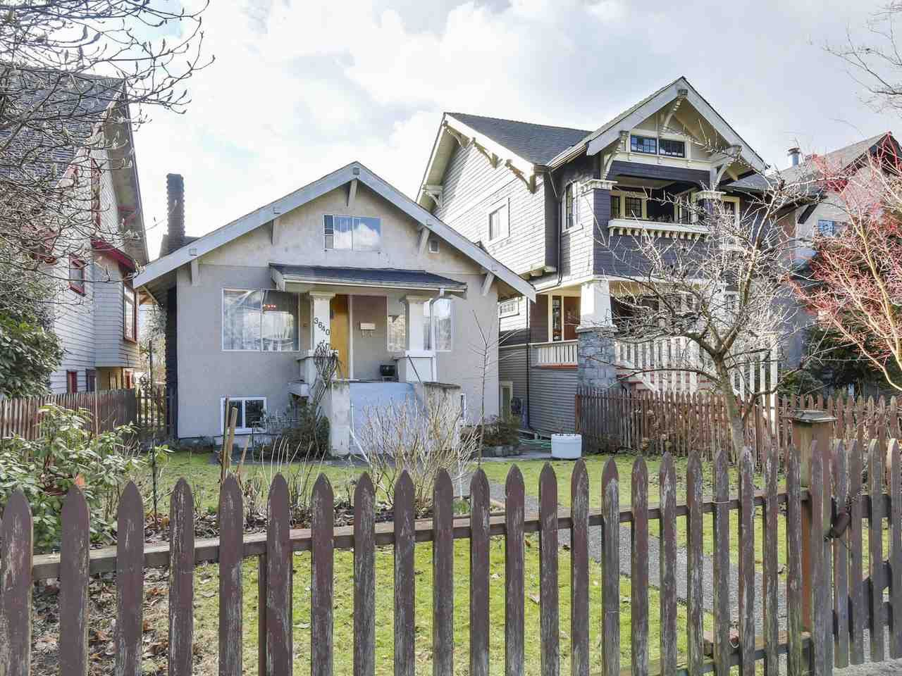 Main Photo: 3640 W 2nd Avenue in Vancouver: Kitsilano House for sale (Vancouver West)  : MLS®# R2141257