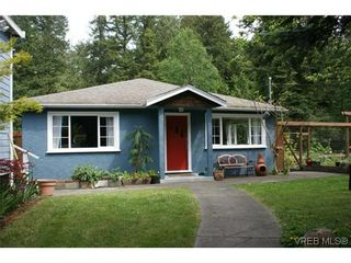 Photo 1: 100 Goward Rd in VICTORIA: SW Prospect Lake House for sale (Saanich West)  : MLS®# 608302